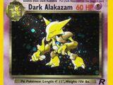 Dark Alakazam (Team Rocket 1 TCG)