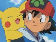 EP295 Ash y Pikachu