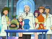 EP470 Maya eligiendo a su primer Pokémon