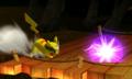 Pikachu usando impactrueno SSB4 3DS