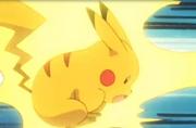 EP148 Pikachu usando impactrueno