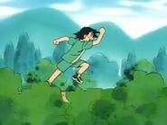 EP001 Ash corriendo