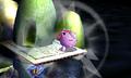 Jigglypuff usando melodía mareante SSB4 3DS