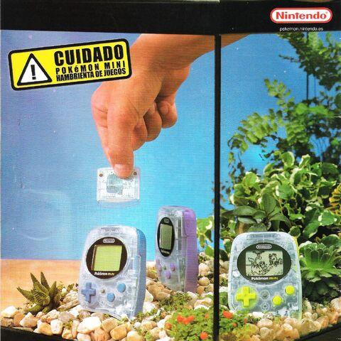 Promo española de Pokémon mini.