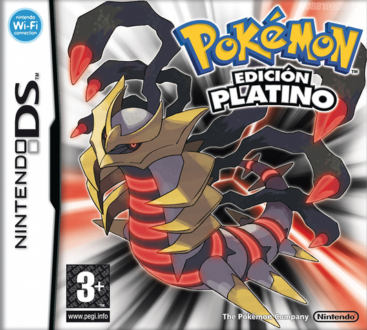 Archivo:Carátula Pokémon Platino (ESP).png
