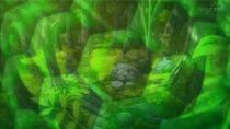 EP897 Núcleo de Zygarde viendo a través de sus células