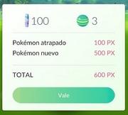 Experiencia Pokémon GO