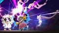 Mega-Mewtwo Y usando onda mental SSB4 Wii U