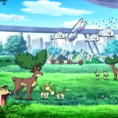 Pokémon que viven en Colinas/Cumbres Pokémon.