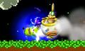 Pikachu usando cabezazo eléctrico SSB4 3DS