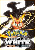 Pokemon película 14 white poster in english
