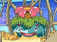 EP457 Venusaur usando planta feroz