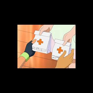 Bolsas con medicina del <a href=