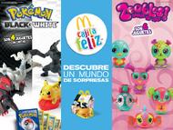 Folleto McDonalds Pokémon 2012 México