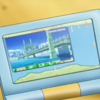 Mapa en el anime, perteneciente a <a href=