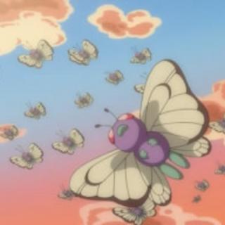Butterfree migrando.