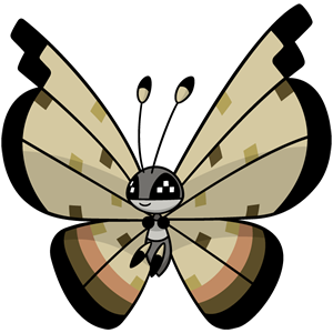 Vivillon desierto (dream world)