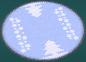 Alfombra nieve ROZA