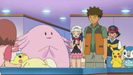 EP659 Chansey y Brock