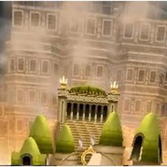 Palacio resurgiendo del suelo.