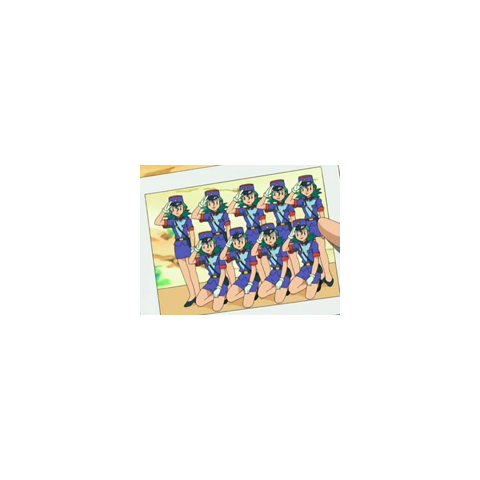 Promoción de <b>oficiales Jenny/agentes Mara</b> de <a href=