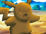 EP489 Pikachu petrificado