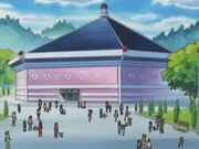 Estadio del Concurso Pokémon de Ciudad Portual