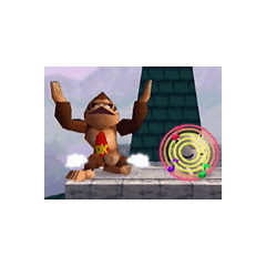 Jigglypuff usando canto en <a href=