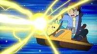 EP1003 Pikachu usando gigavoltio destructor