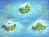Islas A, B y C