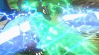 EP934 Mega-Charizard usando garra dragón