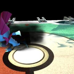 Weavile atacando en Super Smash Bros. Brawl