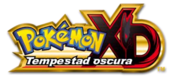 Logo de Pokémon XD Tempestad Oscura