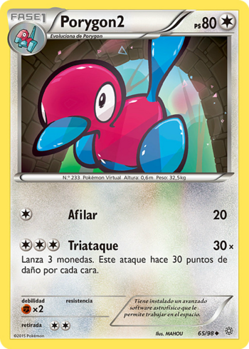 Carta de Porygon2