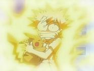 EP528 Recuerdo de Ash con Pikachu