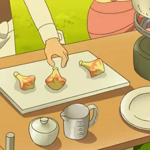 Bayas Higog en el anime.