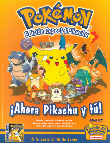 Archivo:Promo española Pokémon amarillo.png