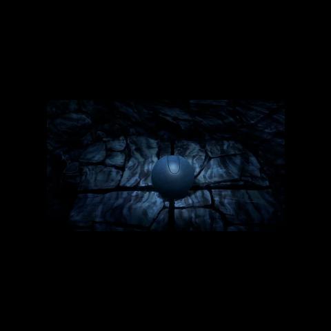 Orbe oscuro en la <a href=