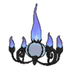 Chandelure espalda G6