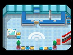 P-1 Centro Pokémon DP