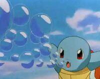 P01 Squirtle usando burbuja