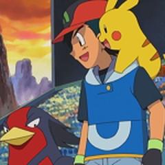 Swellow junto a Ash y <a href=