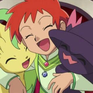 Zoey/Zoe con Leafeon y <a href=