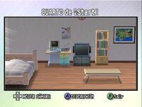 Vista de la habitación del juego en Pokémon Stadium
