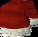 Sombrero de Santa Claus detalle