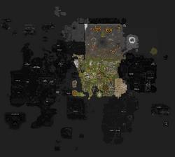 Mapa de RuneScape F2P