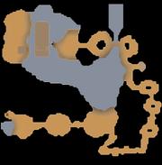Cuevas de Ashdale mapa