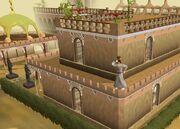 Segun y tercer piso del castillo de al kharid