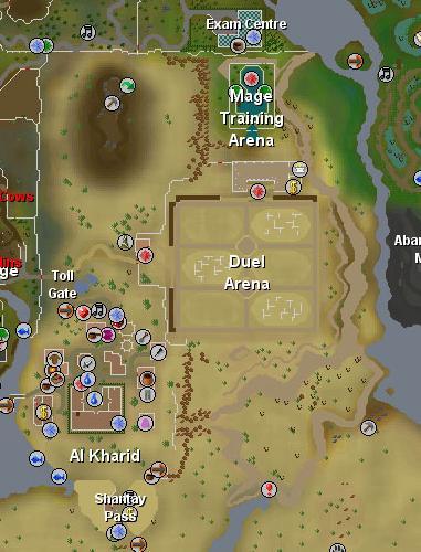 Mapa de Al Kharid