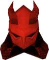 Yelmo de dragón detallado